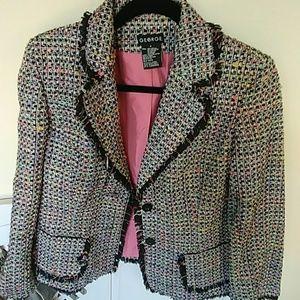 Multi-color Blazer Jacket